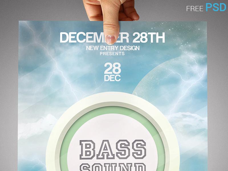 Bass Sound Flyer